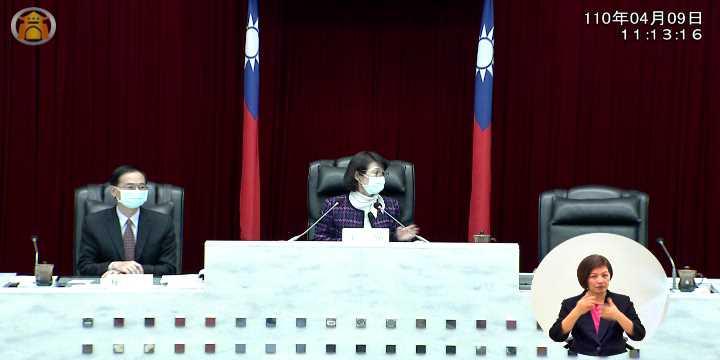 110-04-09 11:12:56 第三屆第五次定期會 1.開幕。2.報告事項。_圖片